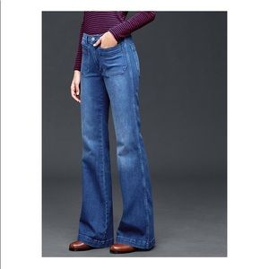 Gap Flare jeans GUC 8